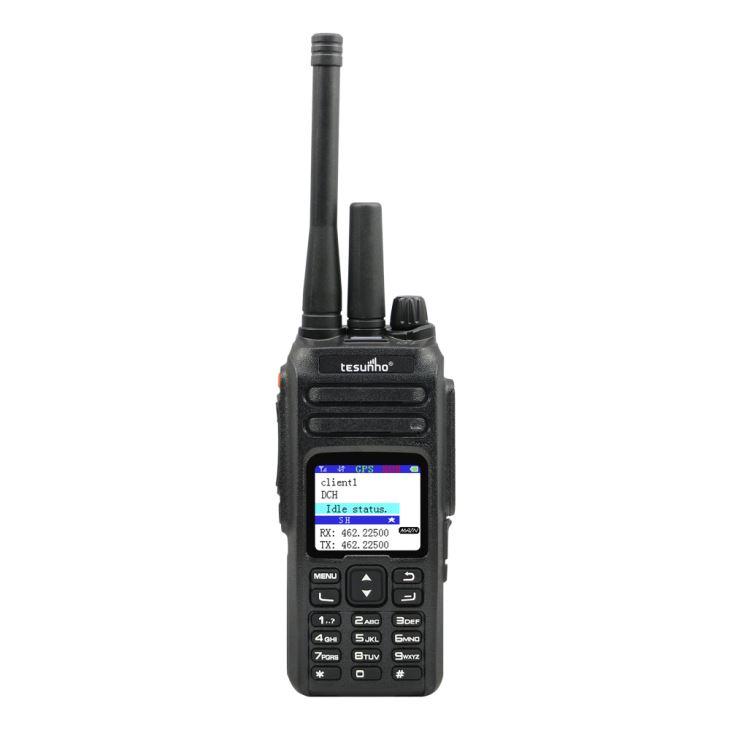 Walkie-talkie IP VHF para camping