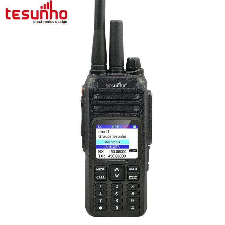 VHF UHF Handheld rádio em dois sentidos com cabo USB