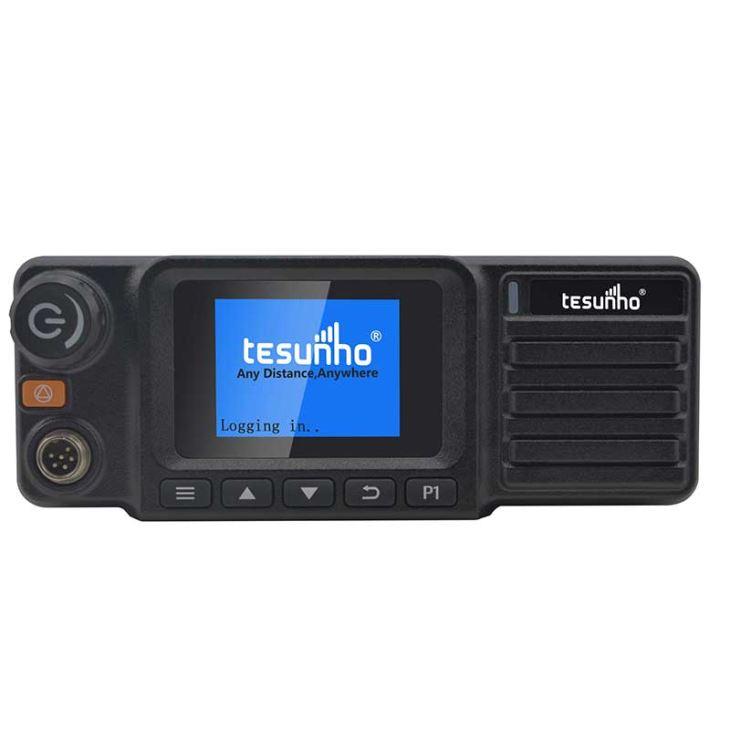 Rádio do táxi 4G SOS com microfone acessível Walkie Talkie