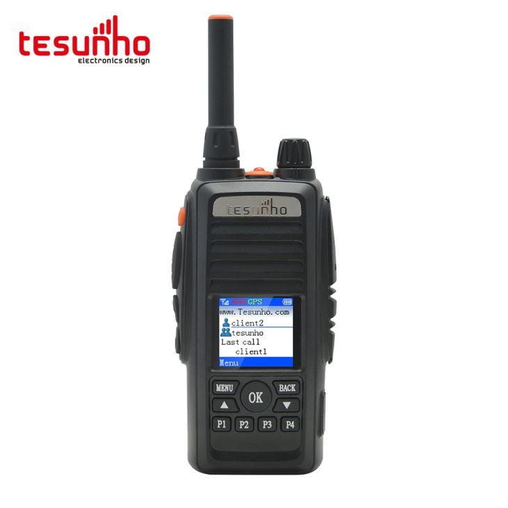 Walkietalkie de telefone 3G / 4G para emergências