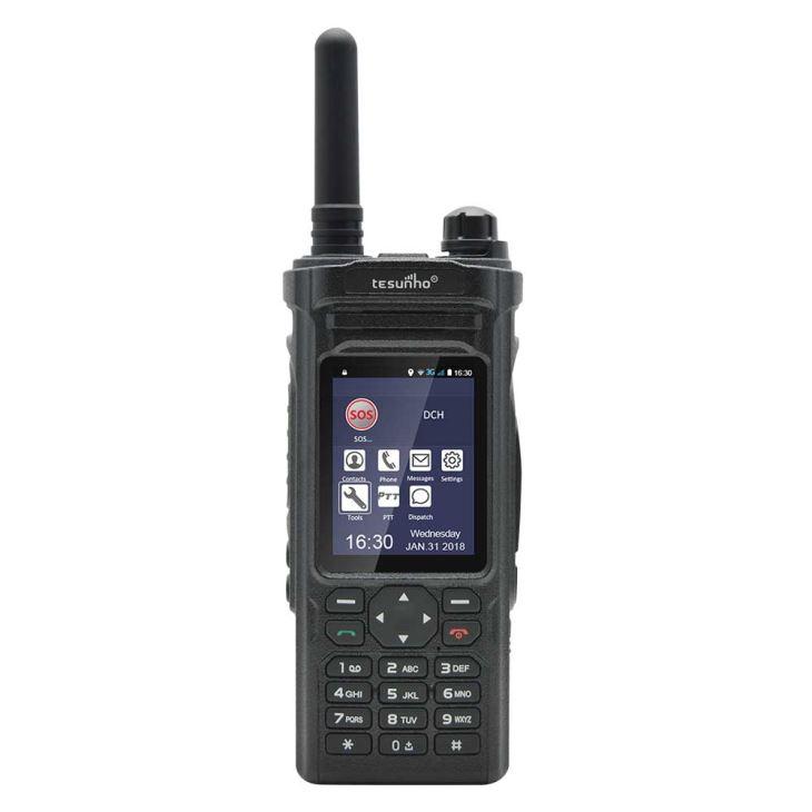 Rádio da rede de Zello Wifi do andróide 3G com telefonema