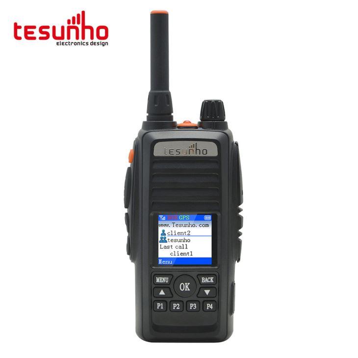 Rede de negócios em dois sentidos rádio com manual