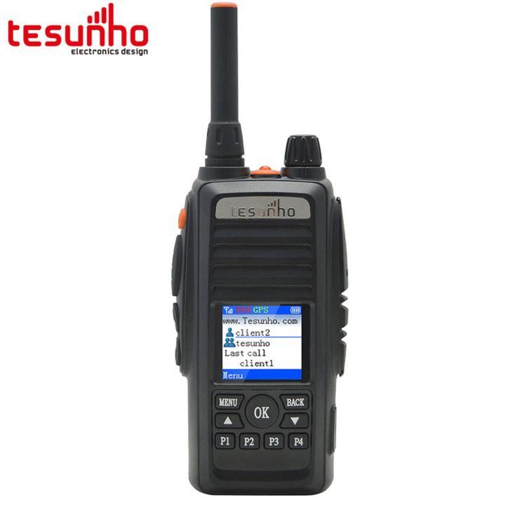 Rádio em dois sentidos de 4G com sistema de gravação