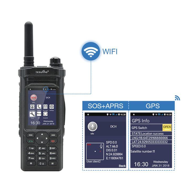 WIFI celular Walkie-Talkie para militares