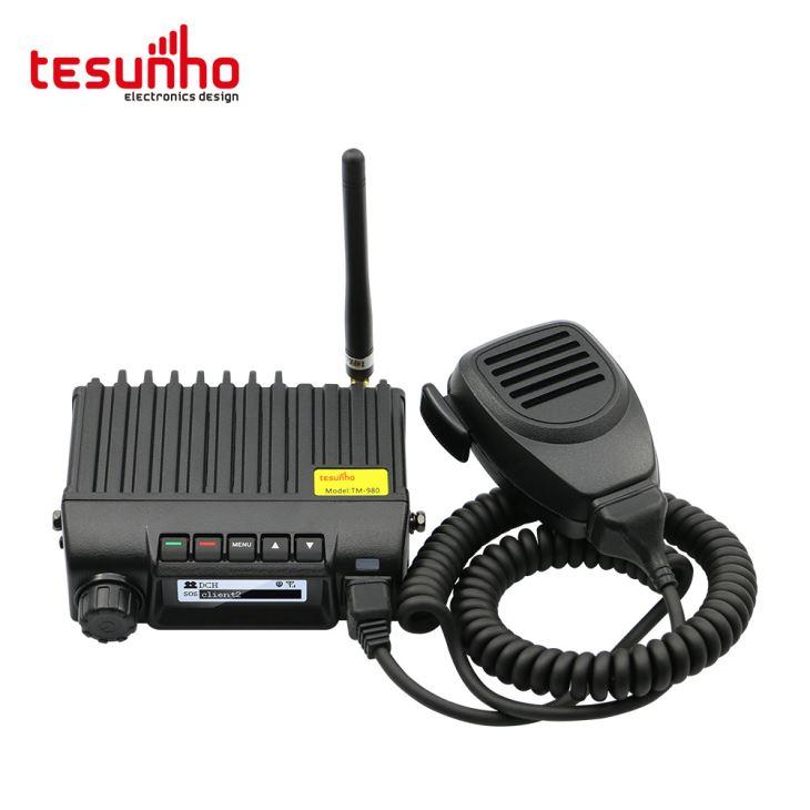 Rádio Estação Veículo Real PTT Táxi WCDMA Móvel
