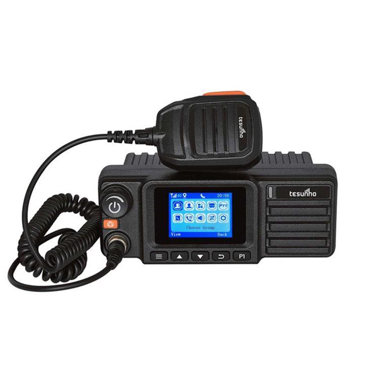 Rádio móvel LTE Walkie Talkie para táxi