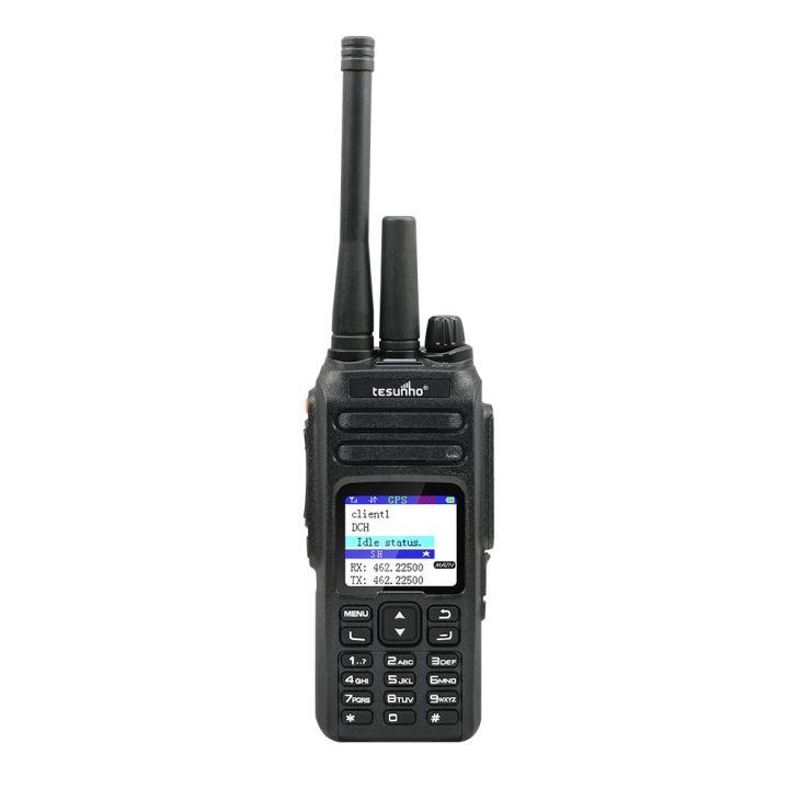TESUNHO 4g SIM Card Walkie Talkie móvel Faixa de 100 km com botão de pânico