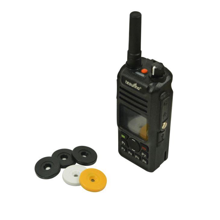 Sistema de rondas de guarda de comunicação sem fio NFC