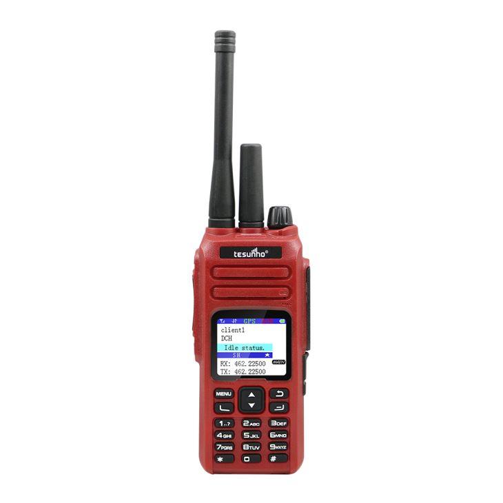 Modo duplo GSM/WCDMA /VHF/UHF Radio Walkie Talkie