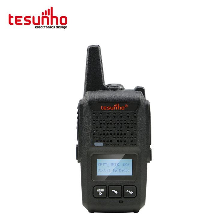 Interfone pequeno do rádio da maneira do PTT 2 do IP da luz